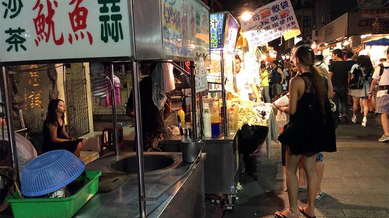 nightmarket gece pazarı tayvan