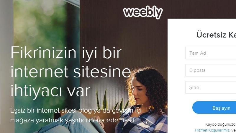 weebly kodlama bilmeden websitesi oluşturmak ücretsiz