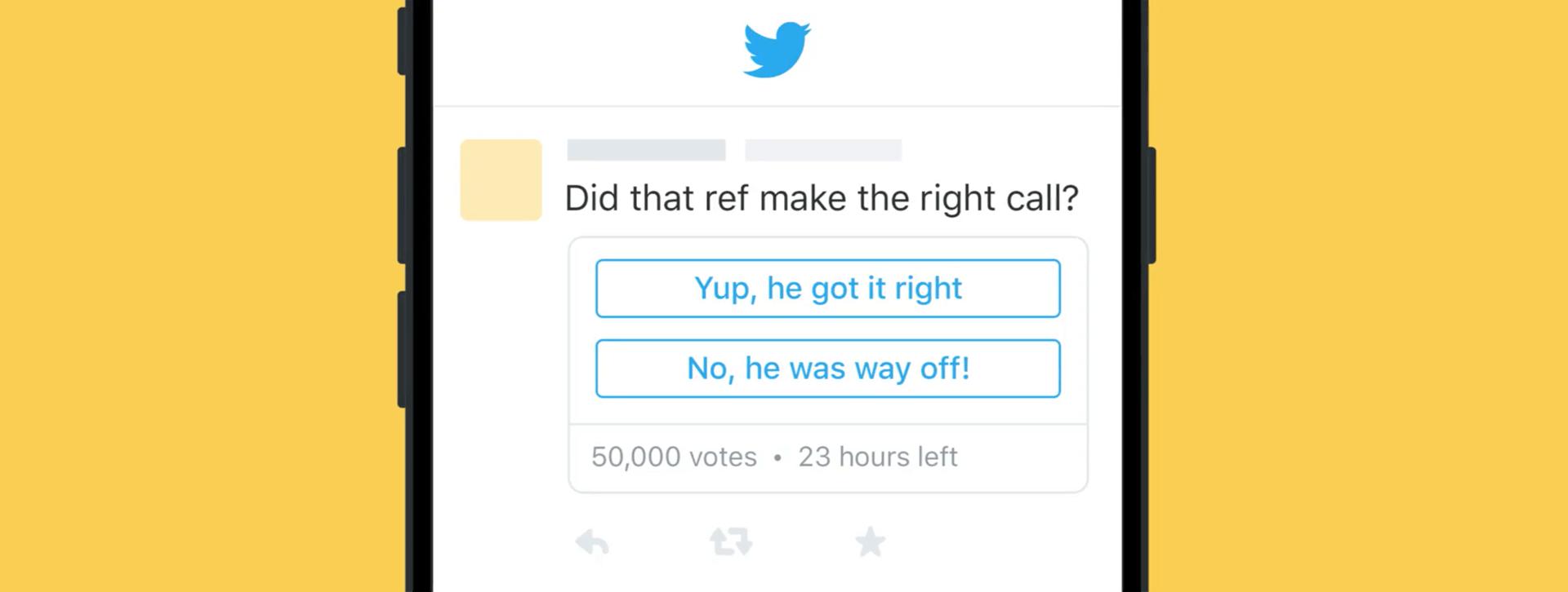 twittera yeni gelen anket özelliği